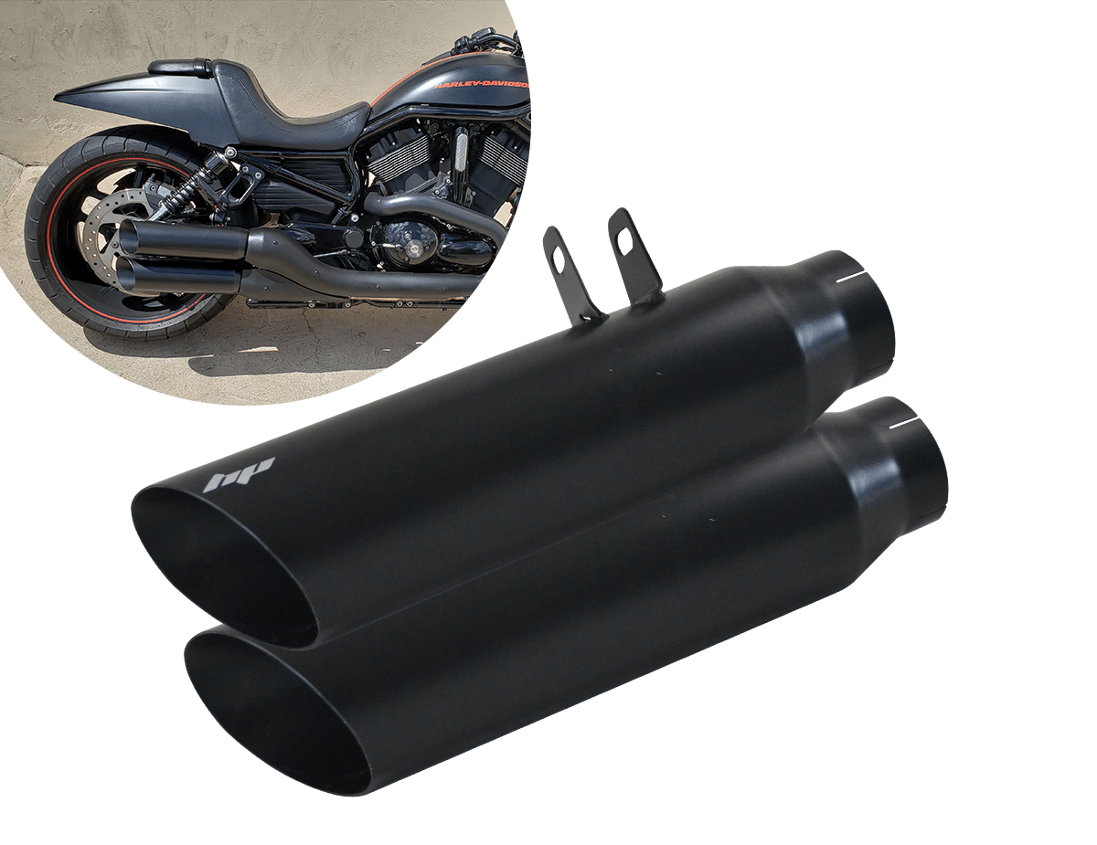 Ponteira Para Harley Davidson V Rod Night Rod Hp Racing Exhaust